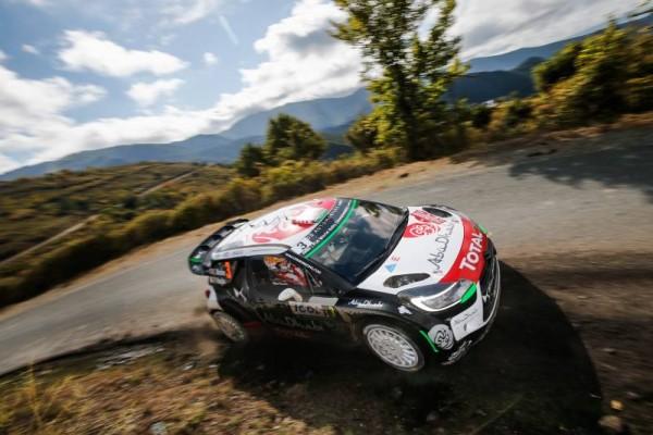 WRC 2015 TOUR DE CORSE DS3 DE MEEKE.
