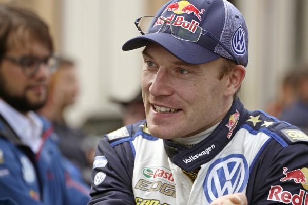 Jari-Matti Latvala (FIN) WRC Rally France - Corsica 2015