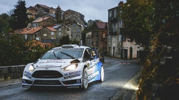 WRC-2015-TOUR-DE-CORSE-La-FORD-FIESTA-RS-de-ELFYN-EVANS-Leader-vendredi-soir-2octobre
