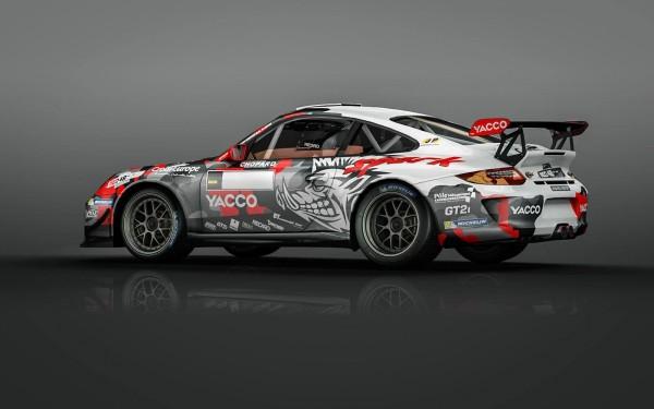 WRC 2015 TOUR DE CORSE La PORSCHE de ROMAIN DUMAS -