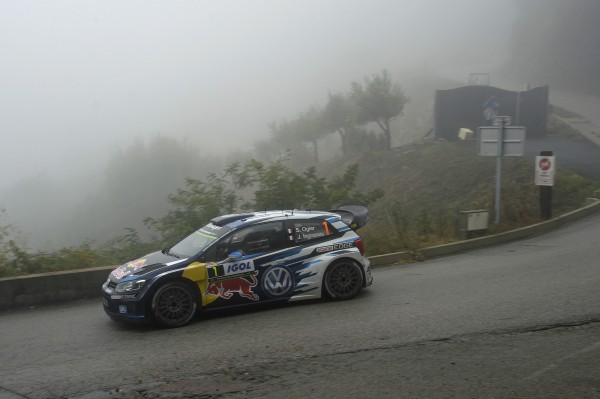 WRC 2015 TOUR DE CORSE SEB OGIER Team VW POLO