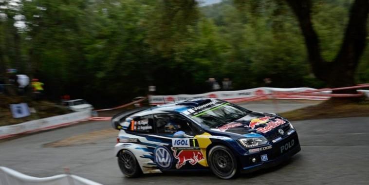 WRC 2015 TOUR DE CORSE-VW POLO- Seb OGIER