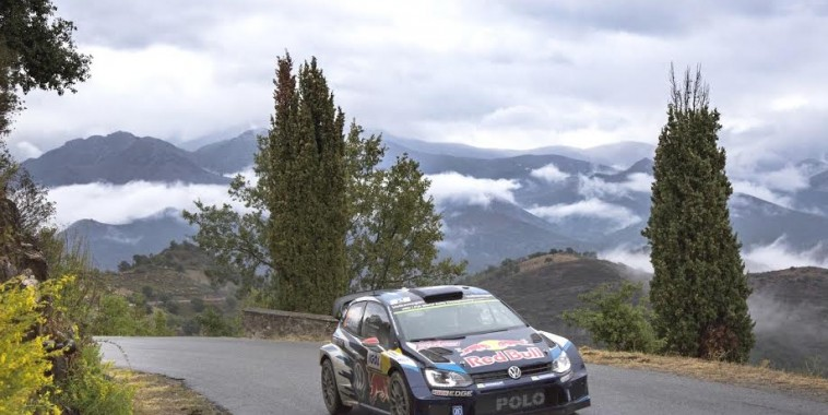 Jari-Matti Latvala (FIN), Miikka Anttila (FIN) Volkswagen Polo R WRC (2015) WRC Rally France - Corsica 2015