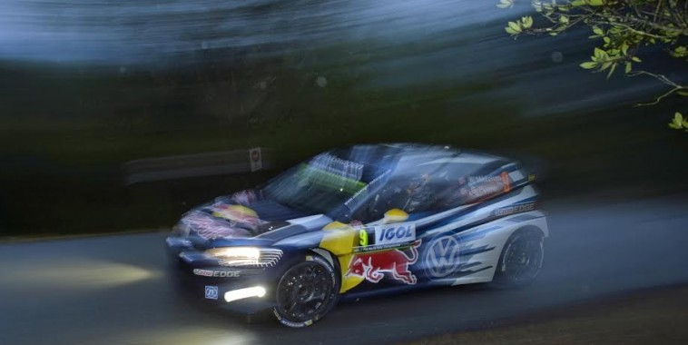 Andreas Mikkelsen (NOR), Ola Fløene (NOR) Volkswagen Polo R WRC (2015) WRC Rally France - Corsica 2015