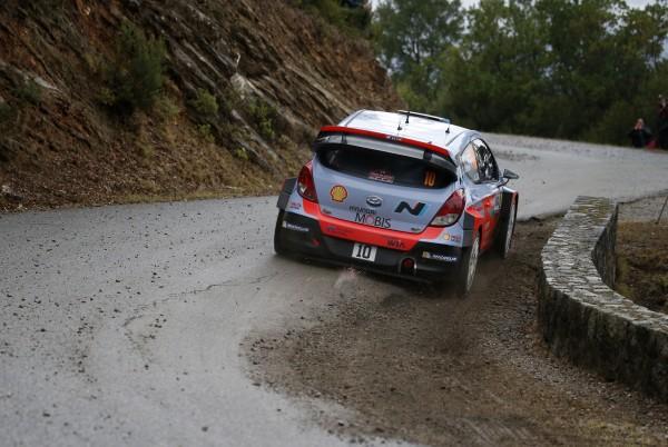 WRC 2015 TOUR de CORSE 2015 -HYUNDAI i20WRC de Dani SORDO
