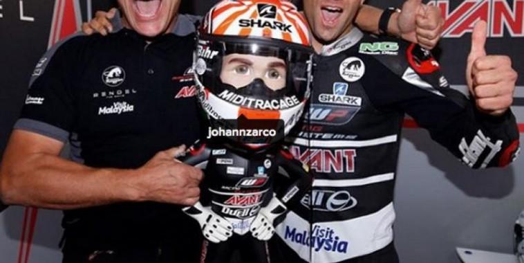 Zarco Champion du Monde Moto2
