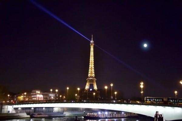 ANDROS 2015-2016 - Presentation Bateau mouche - Vue sur la Tour Eiffel -Equipe PERNAUT Jeudi 26 Novembre 2015 Photo Max MALKA