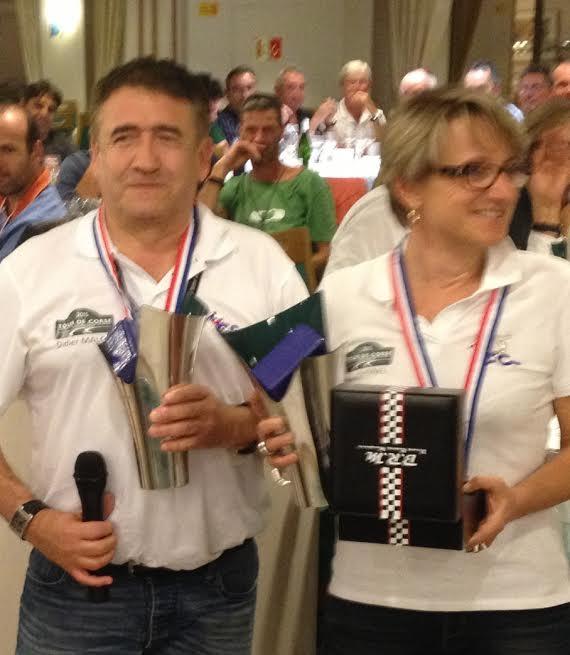 CORSE-2015-RALLYE-DES-10000-VIRAGES-Les grands Vainqueurs Didier-MALGA-Anne-Valerie-BONNEL