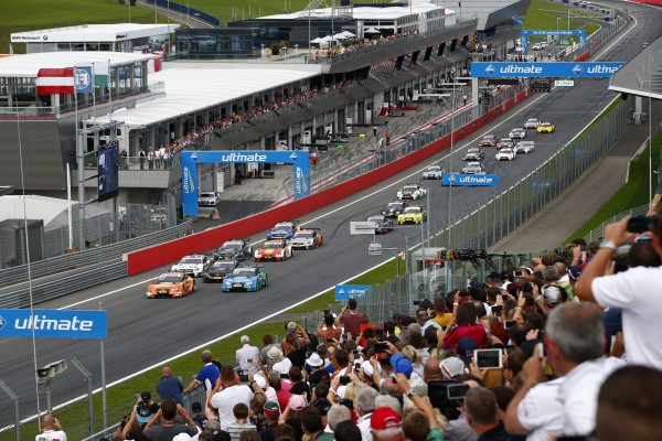 DTM 2015 le depart au RED BULL RING