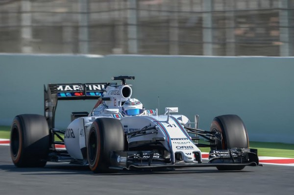 F1 2015 MONTMELO - Team WILLIAMS MERCEDES- SUSIE WOLFF - Photo Antoine CAMBLOR