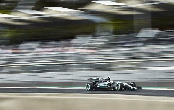F1 2015 SAO PAULO - MERCEDES de LEWIS HAMILTON --