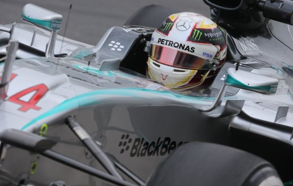 F1 2015 SAO PAULO - MERCEDES de LEWIS HAMILTON