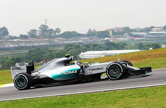 F1 2015 SAO PAULO - MERCEDES de Nico ROSBERG