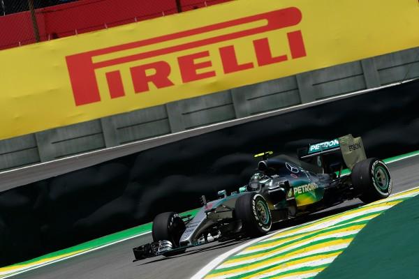 F1 2015 SAO PAULO - NICO ROSBERG Equipe MERCEDES