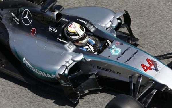 F1 2015  SILVERSTONE  MERCEDES de LEWIS HAMILTON