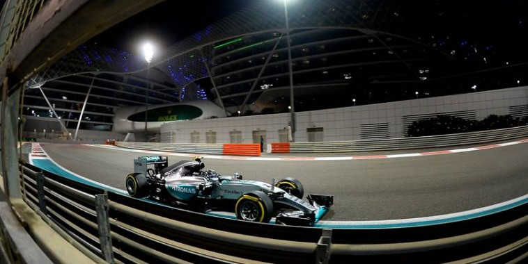 F1 2015 YAS MARINA ABOU DHABI - La MERCEDES DE NICO ROSBERG