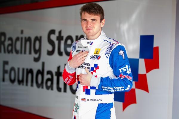 GP2 2015 OLIVER ROWLAND CHAMPION des WSR FORMULA 3 5 fibit la saison GP2 chez STATUS GP.
