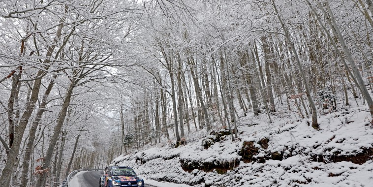 Jari-Matti Latvala (FIN), Miikka Anttila (FIN) Volkswagen Polo R WRC (2015) WRC Rally Monte Carlo 2015
