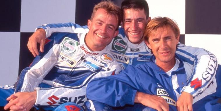 MOTO-ENDURANCE-1995-Bruno-BONHUIL-avec-JE-Gomez-et-Hervé-Moineau-©-Photo-Michel-Picard.