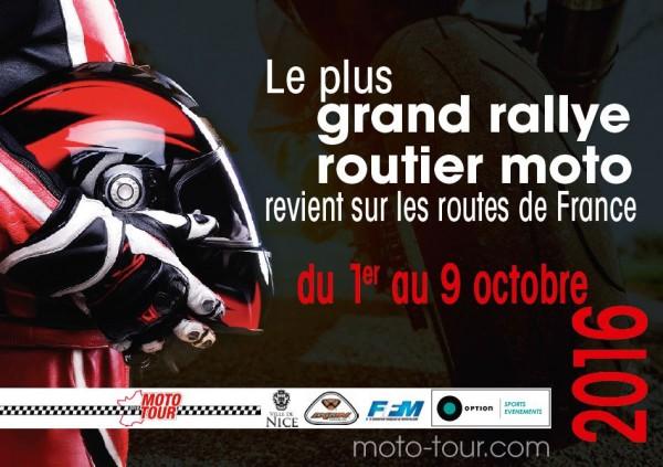 MOTO TOUR 2015 - affiche