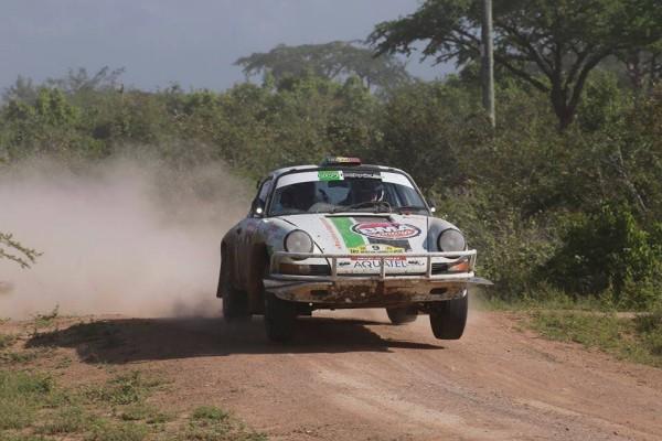 SAFARI KENYA 2015 La PORSCHE de BERNARD MUNSTER