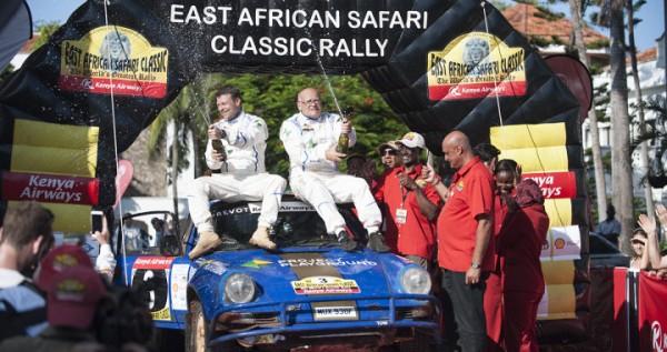 SAFARI KENYA 2015 Victoire de la PORSCHE 911 de STIG BLOMQVIST et.