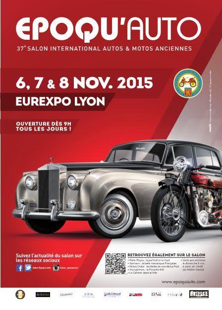 SALON EPOQU AUTO 2015 Affiche -