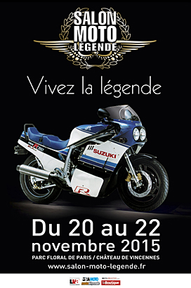SALON MOTO LEGENDE 2015 Affiche