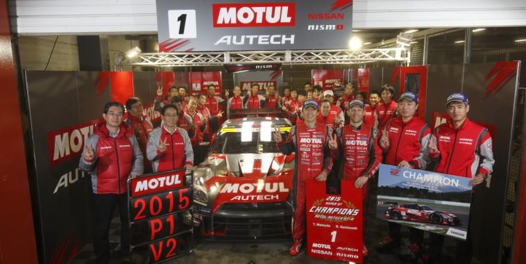 SUPER GT 2015 NISSAN NISMO CHAMPIONS