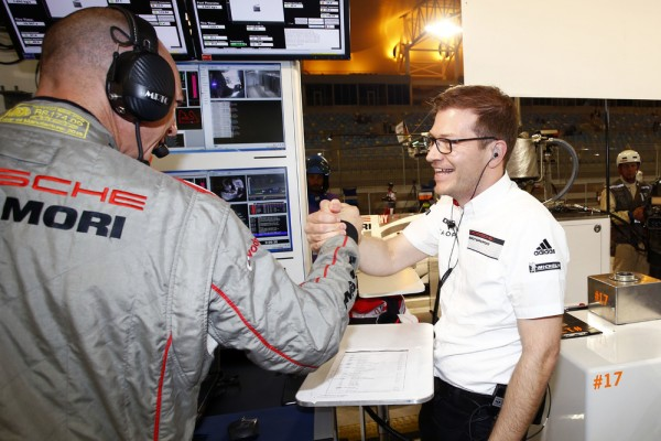 WEC-2015-BAHREIN-Stand-PORSCHE-Andreas-Seidl-Team-Principal-Porsche-Team
