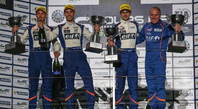 WEC 2015 SHANGHAI 1er podium en LMP2 pour les pilotes ALPINE SIGNATEXCH le 1er novembre