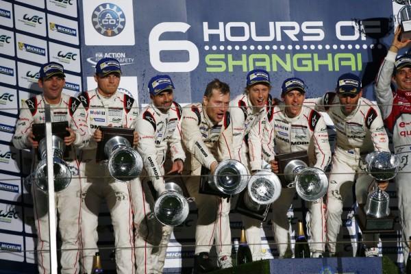 WEC 2015 SHANGHAI -Doublé pour les pilotes PORSCHE La 17 devant la 18 le 1er novembre