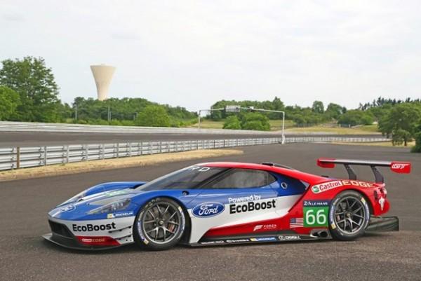 WEC 2016 - La future FORD GT 40 entame son programme d essais et de developpement.