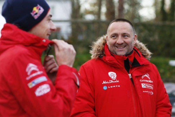 WRC 2015 WALES GB RALLY- TEAM CITROEN YVES MATTON et STEPHANE LEFEBVRE.