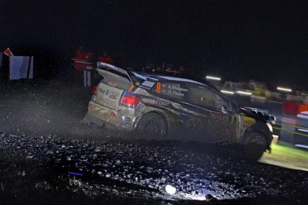 WRC 2015 WALES GB RALLY VW MIKKELSEN FLOENE