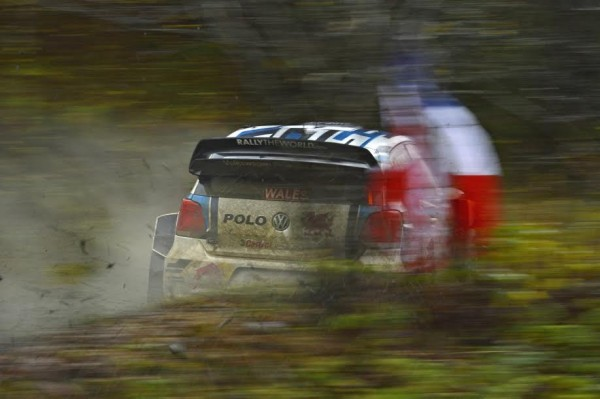 WRC 2015 WALES GB RALLY VW OGIER.