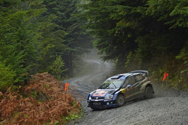WRC 2015 WALES GB RALLY VW OGIER INGRASSIA.