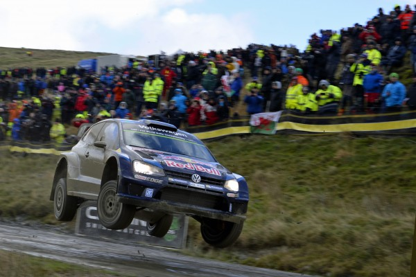 WRC 2015 WALES GB RALLY VW POLO de ANDREAS MIKKELSEN.