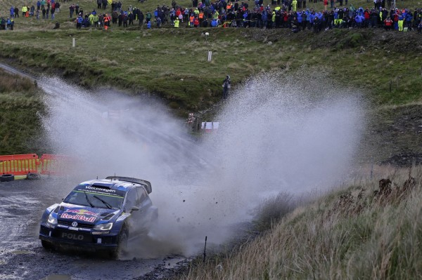 WRC 2015 WALES GB RALLY VW POLO de Seb OGIER