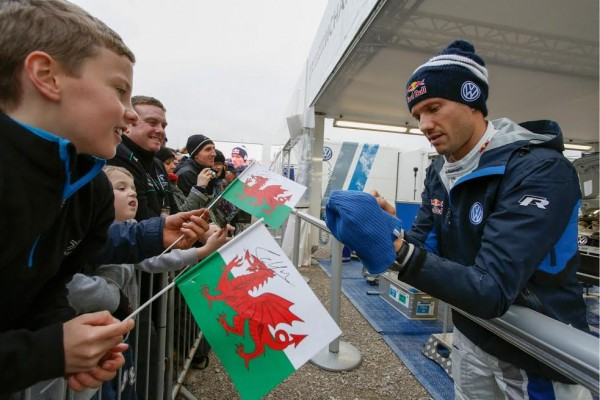 WRC 2015 WALES GB - Team VW POLO WRC -SEB OGIER.