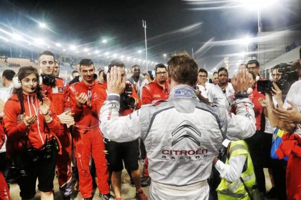 WTCC-2015-LOSAUL-AU-QATAR-Les-adieux-du-Team-CITROEN-à-SEBASTIEN-LOEB-samedi-28-Novembre.