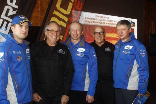 AFRICA ECO RACE 2015 -2016 Anton Shibalov, Chagin -Rene Metge - Jean Louis Schlesser