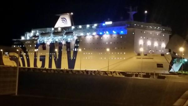 AFRICA RACE 2016 a SETE le ferry CNAV SARDEGNIA