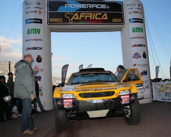 Africa Race 2016 Jack Brun-Charles-Henri Larroque Team GARD - Un Dakar pour la vie - Photo Jean-François Thiry