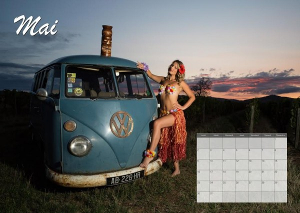 CALENDRIER ALYSSON 2016 Photo LUDOVIC DROGUE