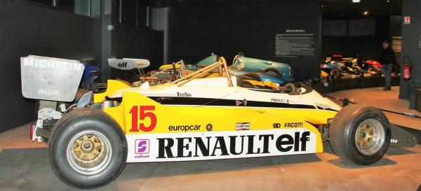 CONSERVATOIRE de la MONOPLACE FRANCAISE -RENAULT RE30B C de F1 de 1982 pilotée par Alain PROST -Photo Florian GAUDICHEAU