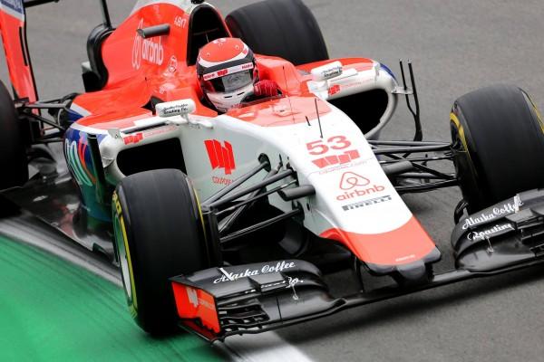 F1-2015- GP du TEXAS à AUSTIN la MANOR de 28-Novembre-Stand-WIL-STEVENS