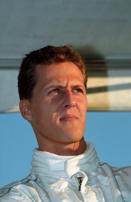F1 - Michael Schumacher lors de sa première prise de contact avec son nouveau Team la Scuderia Ferrari fin 1995-© Manfred GIET.