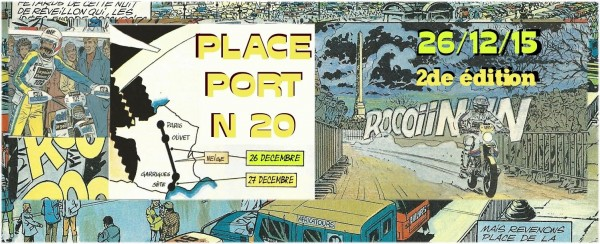 PLACE PORT N20 en marge de l'AFRICA RACE 2016 l---