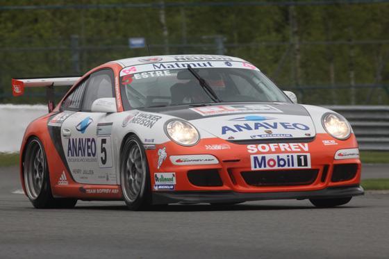 2011 - PORSCHE-Carrera Cup à Spa-Kevin Estre.
